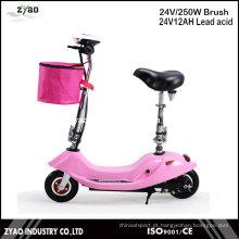 Scooter Eléctrico Pequeno Ce Homologado E-Scooter 250W
