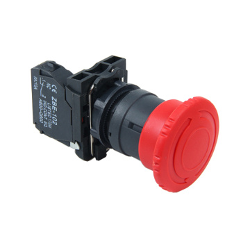 Interruptor pulsador de emergencia XB5AS542