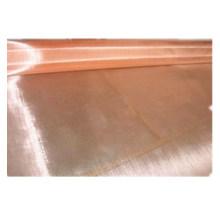 Rote reine Kupfer Drahtgeflecht Disc Medizin Industrie Webart Kupfer Mesh Filterscheibe