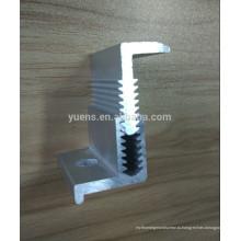 ТОП 1 панель высокого качества алюминиевая ПВ крепления Регулируемая Солнечная Струбцина конца