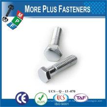 Feito em Taiwan aço inoxidável de alta qualidade parafuso hexagonal parafuso parafuso
