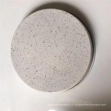 Plaque de cuisson à pizza ronde de 9 pouces