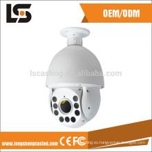 carcasa de la cámara de domo del producto de la industria de fundición a presión de aluminio
