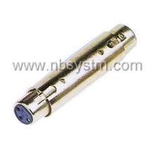 Prise microphone 3P à adaptateur jack microprophone 3P