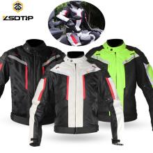 Unisex Motocicleta Jaqueta de Equitação Da Motocicleta Terno de Corrida Calça À Prova D 'Água de Proteção Personalizar Motogp Terno De Corrida