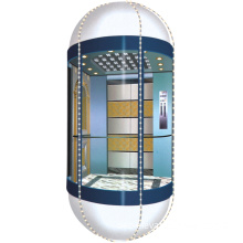 Smr Panoramic Elevator with Glass Panel (OEC-G002)