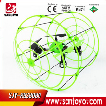 SJY-RBS8080 kit quadcopter rc 4-AXIS 2.4G controle Remoto Sky Walker aeronaves joaninha mini drones rc quadcopter