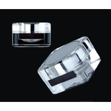 Jy221 50g Square PMMA Cosmetic Jar