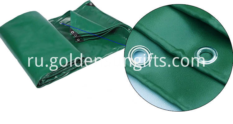 Ship Tarpaulin Covers with Eyelets
