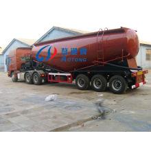 3 Axles 30-60cbm Bulk Cement Tank Carrier Semi Truck Trailer