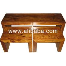 Sheesham Holz Tisch