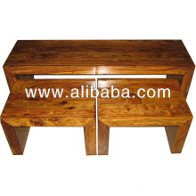 Table en bois de Sheesham