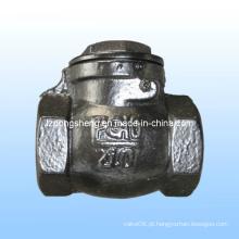 Válvula de retenção com parafusos de ferro fundido
