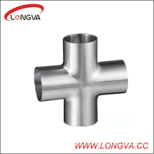 304/316L Sanitary Stainless Steel Weld Cross