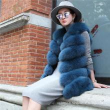 Wholesale Chine fournisseur personnalisé taille réel veste de fourrure de renard