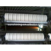 100% 250TEX / 1 fil de laine pure pure NZ blanc cru pour tapis