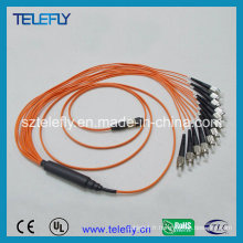 Câble de cordon de raccordement fibre optique MPO-FC
