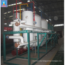 Extracted crude sunflower oil refinery plant