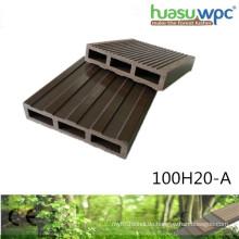 20mm dickes hohles Plattform-WPC-Profil vier Jahreszeit-im Freienbodenbelag