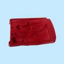 Blister de flocage rouge pour les fournitures scolaires