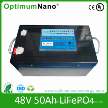 Deep Cycle 48V 50ah Lithium Battery Pack for Telecom/Solar