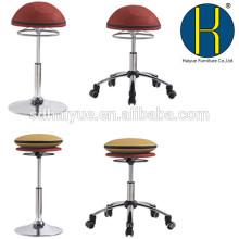 2017 Haiyue Altura Ajustável Altura Assento Ativo Cadeira de Escritório & Ergonômico Em Pé Mesa Giratória Inclinada Banquinho, preto, vermelho