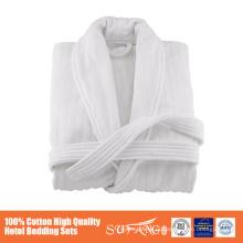 roupões de banho aquecidos de secagem rápida, mangas compridas terry western bathrobe for man,