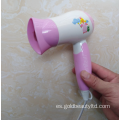 Recién llegado 1200W Plegable Lovely Cartoon Children Hairdryer
