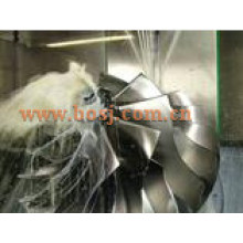 Tp38 Gtp38 Turbocharger Billet Compressor Roda 703697-0001 / 703697-1 Alto desempenho CNC Machined Extended Roda Powerstroke Tailândia