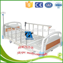 Extra wide home care electric nursing bed