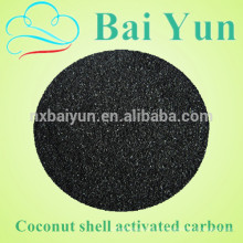 980 valeur d'iode 5 * 12 maille de noix de coco charbon actif prix / charbon actif granulaire