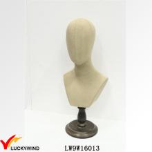 Wholesale Handmade Retro Vintage Mannequin Head Stand