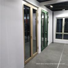 Aluminium Swing Doors Double Glazed Glass  Tempered Awning and Sliding Aluminium Casement Window