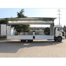 Aile ouvrant la caisse du véhicule de carrosserie de boîte semi-remorque