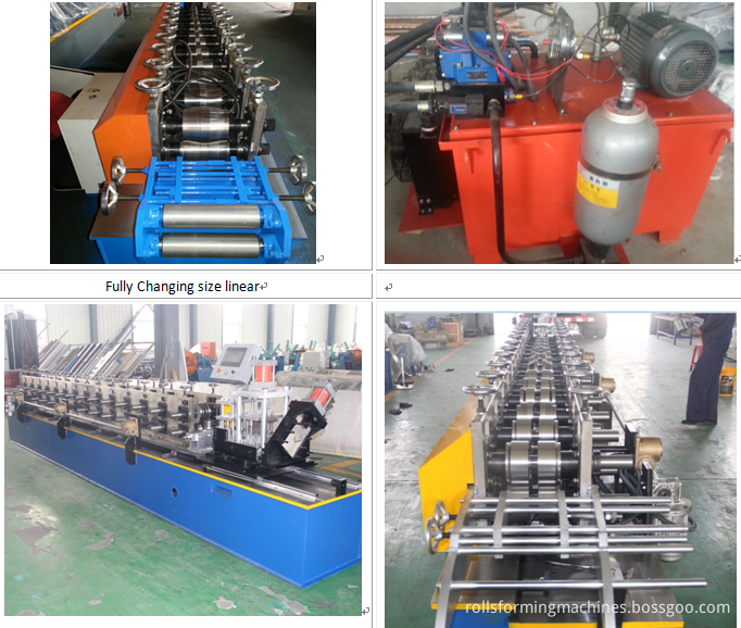 4 in 1 Light Keel Roll Forming Machine Line