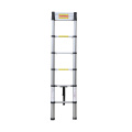 Telescoping Ladder 10.5 Ft - Aluminium Extension Ladder with Soft Close Spring Function, EN131-6 Certified 330 lbs Capacity