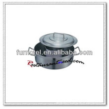 S367 Composite Bottom Hot Pot con tapa