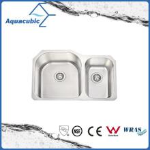 Undercounter Eingebauter Abflussbrett Küchenspüle (ACS8052BM)