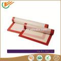 FDA certified Food grade Custom wholesale fiberglass non stick silicone baking mat