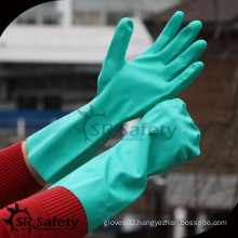 SRSAFETY 2016 new style house used factory price pvc gloves for industrial gloves,cleaning gloves