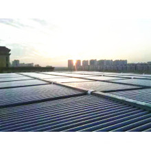 Le projet de chauffe-eau solaire à grande capacité