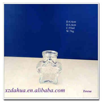 Nini Star Shaped Glass Storage Bottle