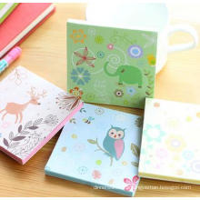 Convenient Memo Pads, Strong Stick Customized Logo,