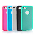 Shockproof Top Adsorbed TPU Clear Phone Case para iPhone 6/7/8