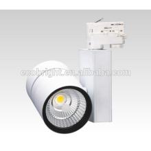 Nueva producto COB LED luz de Track Spot 30w 35w 50w ropa tienda proyectores iluminación comercial