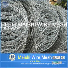 Flat Wrap Coils Razor Wire and Razor Wire Security Barrier