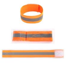 Laufsicherheit Elastisches fluoreszierendes reflektierendes Armband