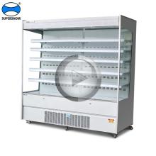 Branchez l'équipement de réfrigération d'affichage de supermarché de type
