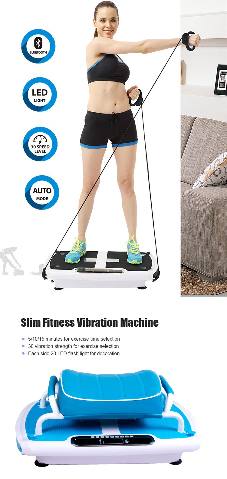 Body Building Vibration Plate G5120