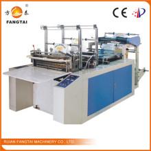 Machine de fabrication de sachets pour le thermoscellage et la découpe à froid